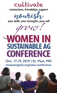 Women in Sustainable Ag Conference Poster